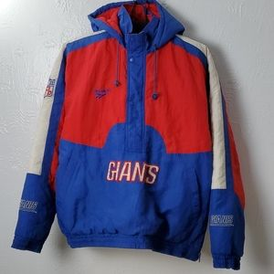 Vintage NFL NY Giants Reebok puffer pullover